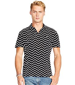 Polo Ralph Lauren® Men's Chevron-Print Polo Shirt