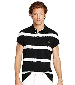 Polo Ralph Lauren® Men's Striped Featherweight Mesh Polo Shirt