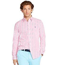 Polo Ralph Lauren® Men's Striped Poplin Shirt