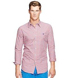 Polo Ralph Lauren® Men's Checked Poplin Shirt