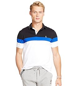 Polo Ralph Lauren® Men's Color-Blocked Performance Mesh Polo Shirt
