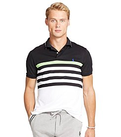 Polo Ralph Lauren® Men's Striped Performance Mesh Polo Shirt