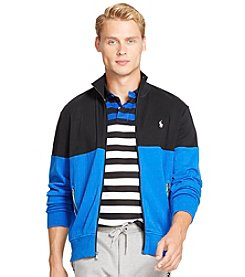 Polo Ralph Lauren® Men's Color-Blocked Interlock Track Jacket