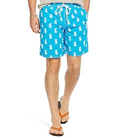 Polo Ralph Lauren® Men's Pineapple-Print Captiva Swim Trunk