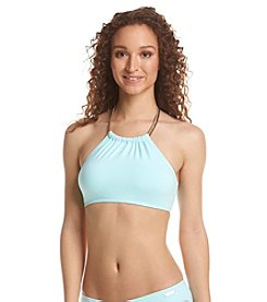 Vince Camuto® Poolside Chain Halter Top High Neck
