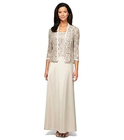 Alex Evenings® Jacket Dress Gown