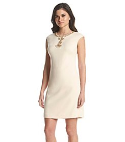 Vince Camuto® Embellished Shift Dress