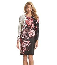 Adrianna Papell® Floral Scuba Dress