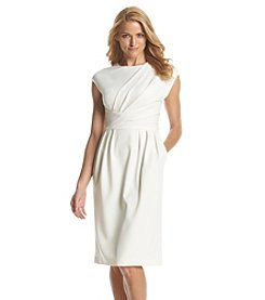 Adrianna Papell® Asymmetric Pleated Dress