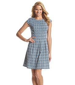 AGB® Geo Pattern Dress