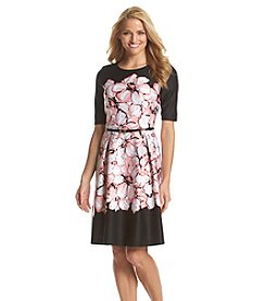 Madison Leigh® Floral Scuba Dress