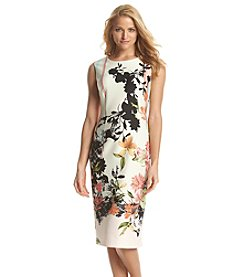 Julian Taylor Tropical Patterned Dress