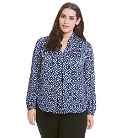 MICHAEL Michael Kors® Plus Size Mercer Print Top