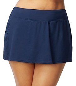 Beach House® Plus Size Solid Skort
