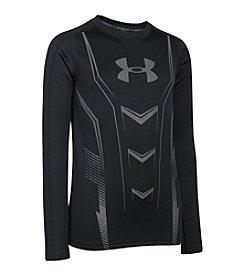 Under Armour® Boys' 8-20 Heatgear® Long Sleeve Fitted Tee