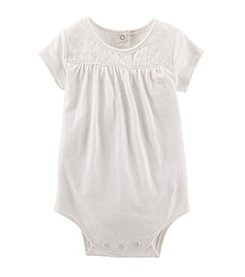 OshKosh B'Gosh® Baby Girls' Lace Bodysuit