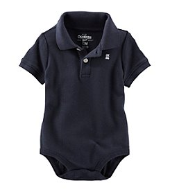 OshKosh B'Gosh® Baby Boys' Basic Polo Bodysuit