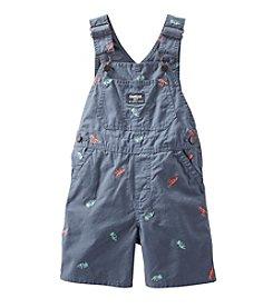 OshKosh B'Gosh® Baby Boys' 12-24 Month Dino Shorts Overalls