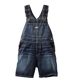 OshKosh B'Gosh® Baby Boys' Denim Shorts Overalls