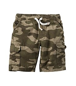 Carter's® Boys' 2T-7 Camo Cargo Shorts