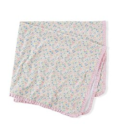 Ralph Lauren® Baby Girls' Floral Cotton Blanket