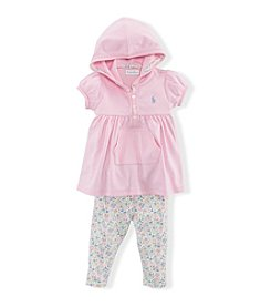 Ralph Lauren® Baby Girls' Hoodie & Pants Set