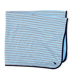 Ralph Lauren® Baby Boys' Striped Cotton Blanket