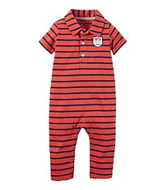 Carter's Baby Boys' 3-24M Striped Jumpsuit