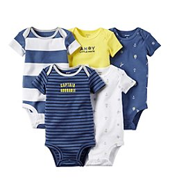 Carter's® Baby Boys 5-Pack Nautical Bodysuits