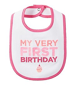 Carter's® Baby Girls' First Birthday Bib
