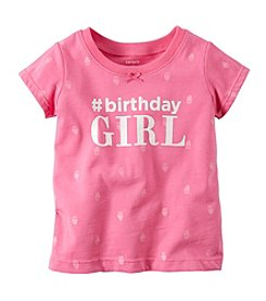 Carter's® Baby Girls' 9-18M Birthday Tee
