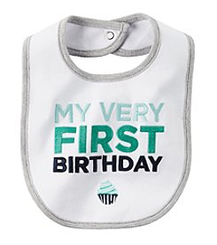 Carter's® Baby Boy's First Birthday Bib