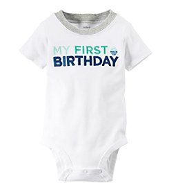 Carter's® Baby Boys' First Birthday Bodysuit