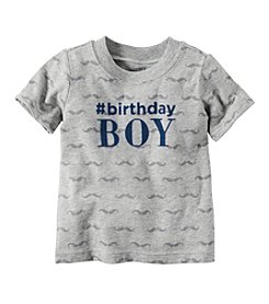 Carter's® Baby Boys' 9-18M Birthday Tee