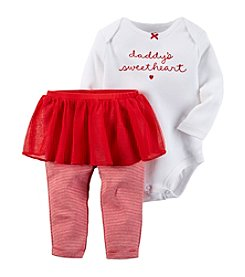 Carter's® Baby Girls' Valentines Tutu Leggings Set
