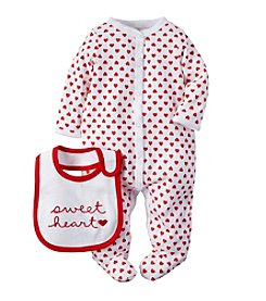 Carter's® Baby Girls' Sweetheart Snap Set