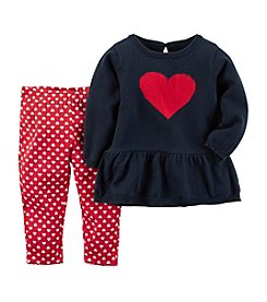 Carter's® Baby Girls' Valentines Day Tunic Set