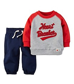 Carter's® Baby Boys' Newborn-18M Heart Breaker 2-Piece Set