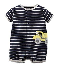 Carter's® Baby Boys Short-Sleeve Dump Truck Romper