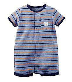 Carter's® Baby Boys' Short Sleeve Striped Romper