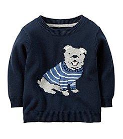 Carter's® Baby Boys' Bulldog Printed Sweater