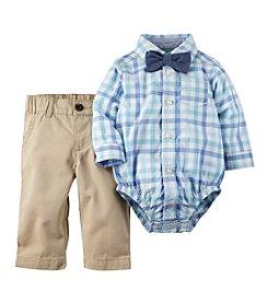 Carter's® Baby Boys' 3-Piece Plaid Bodysuit Set