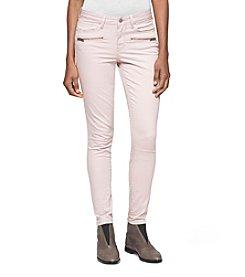 Calvin Klein Jeans Moto Ankle Leggings