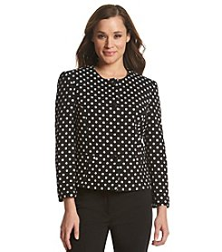 Nine West® Polka Dot Jacket