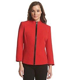 Kasper® Zip-Front Jacket