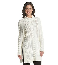 Vince Camuto® Long Turtleneck Sweater