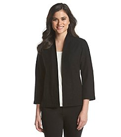 Anne Klein® Boiled Wool Cardigan
