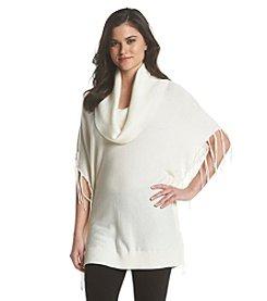 MICHAEL Michael Kors® Cowlneck Fringe Sweater