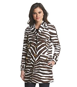 MICHAEL Michael Kors® Safari Print Cocoon Coat