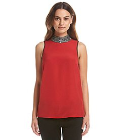 MICHAEL Michael Kors® Embellished Neck Tank Top